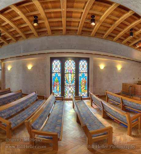 First-Presbyterian Chapel 360 View by Bill Heller