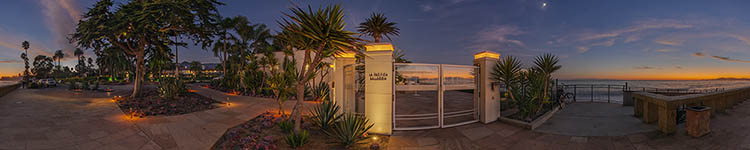 La Pacifica Ballroom Terrace - Panoramic 360 degree image