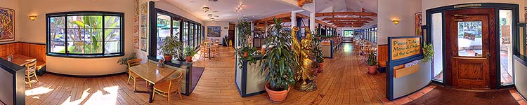 The Natural Cafe Tour - Panoramic 360 degree image