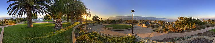 Santa Barbara City College - Panoramic 360 degree image