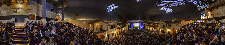 SBIFF - In the Balcony Waiting for Rober Redford - Panoramic 360 degree image