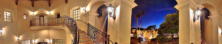 Spiral Staircase on State Street - Panoramic 360 degree image