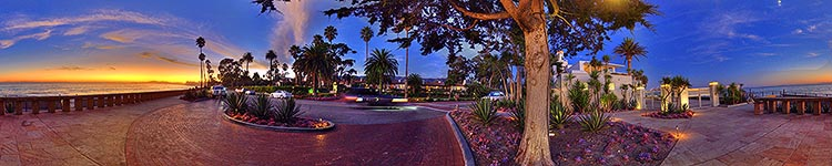 Under the Tree by the Coral Casino - Panoramic 360 degree image